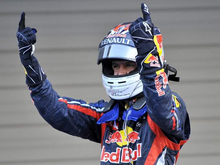 Mais uma vitória para Vettel