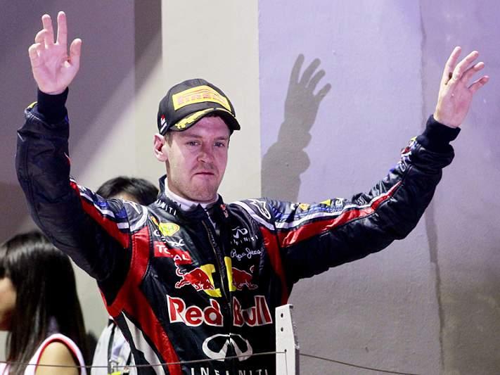 Vettel supera recorde de Mansell