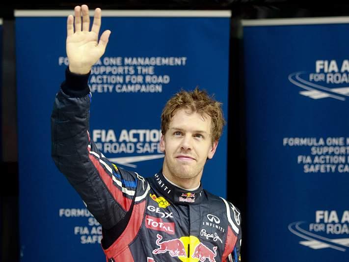 Vettel recebe o mais alto galardão desportivo da Alemanha