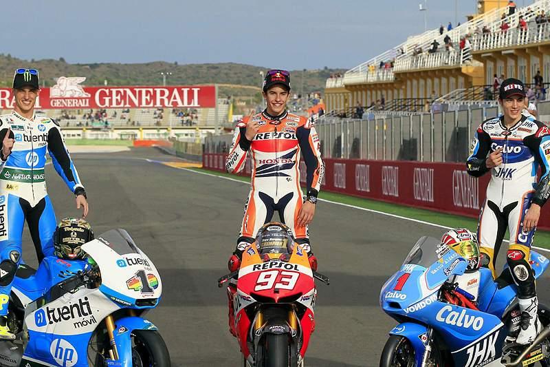 Armada espanhola domina o motociclismo em 2013