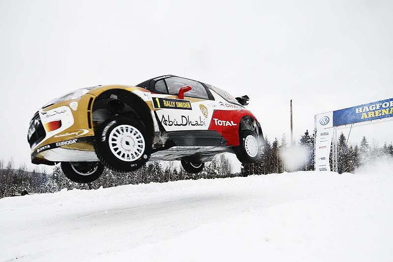 Sébastien Ogier conserva liderança do rali da Suécia