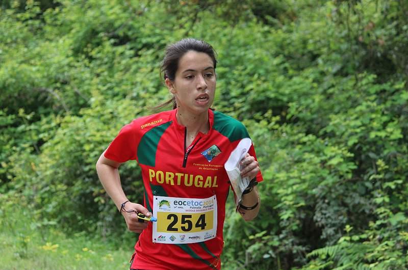 Mariana Moreira na 41.ª posição e Luís Silva na 49.ª na distância média