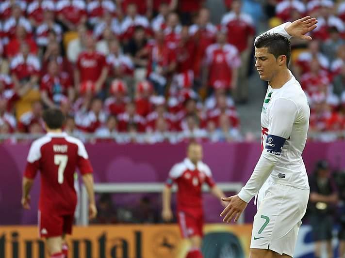 Nem a UEFA acreditou que CR falhasse
