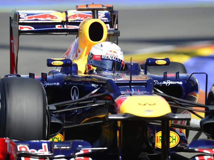 Red Bull revoltada com sanção a Vettel