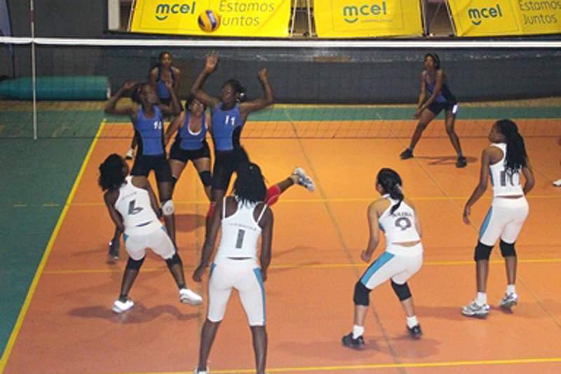 Voleibol de sala realiza amigável Moçambique-Swazilândia