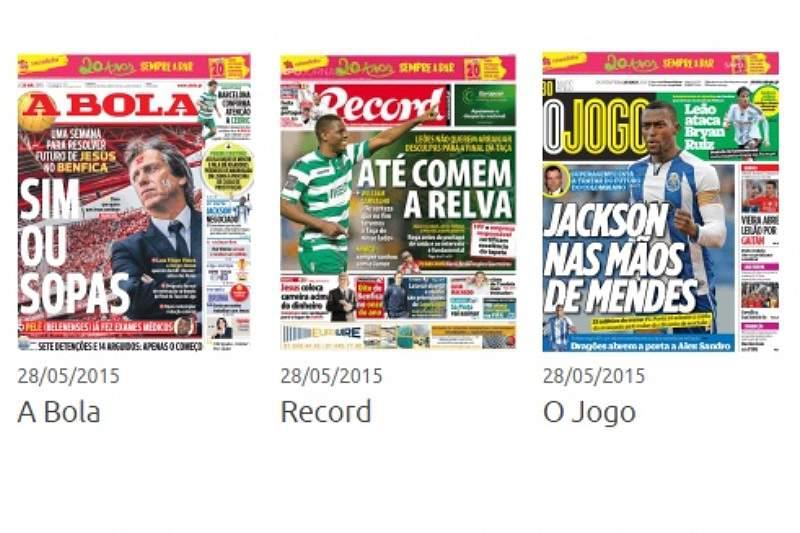 Revista de Imprensa de 28/05
