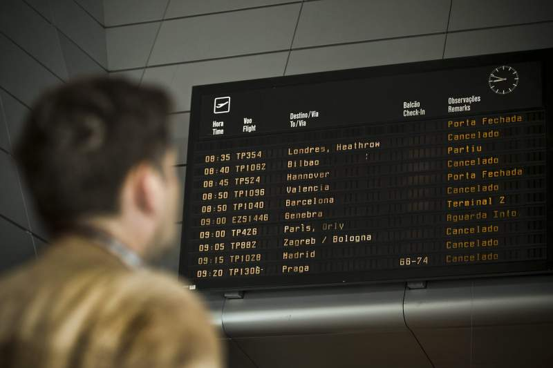 TAP airline's workers strike