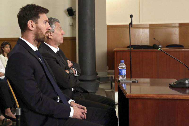 Lionel Messi and father condemned to 21 months in prison for tax charges