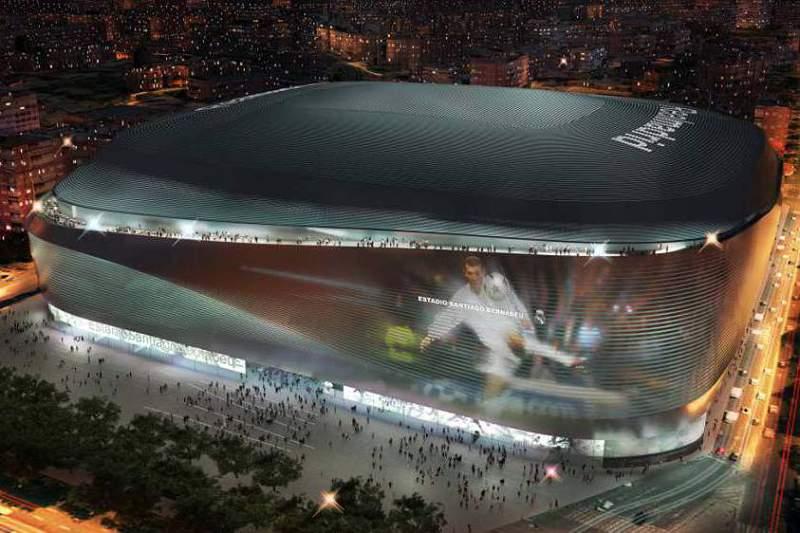 Real Madrid vai ter um 'novo' Santiago Bernabéu