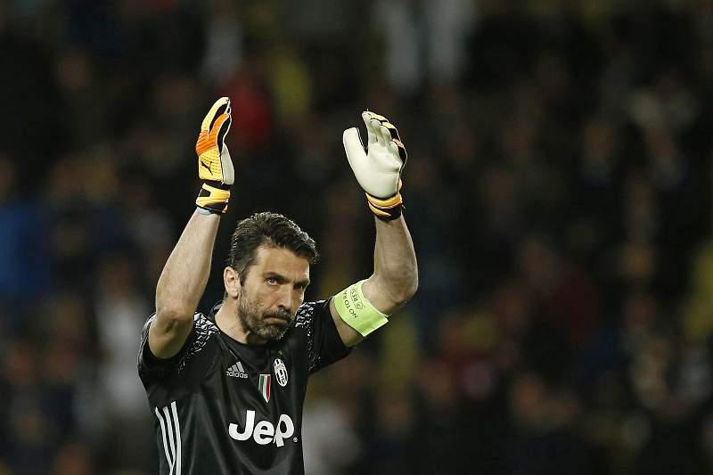 Gianluigi Buffon reage à vitória da Juventus sobre o Mónaco
