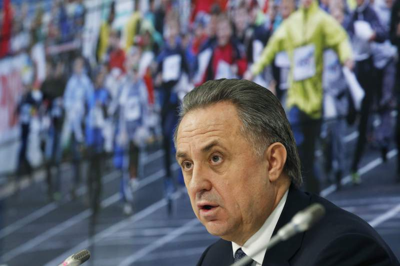 Press conference of Russian Sports Minister Vitaly Mutko
