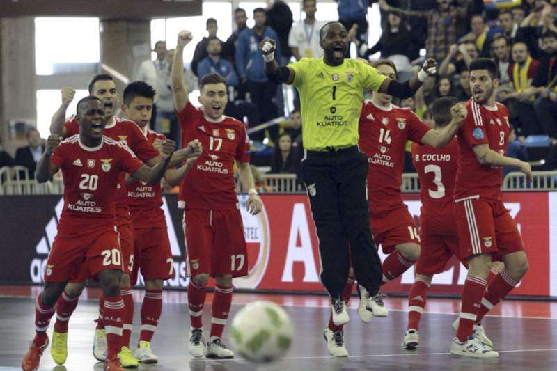 Futsal: UEFA Futsal Cup: Benfica vs Pescara