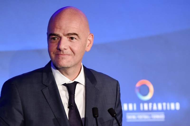 FIFA candidate Gianni Infantino unveils his campaign for FIFA President