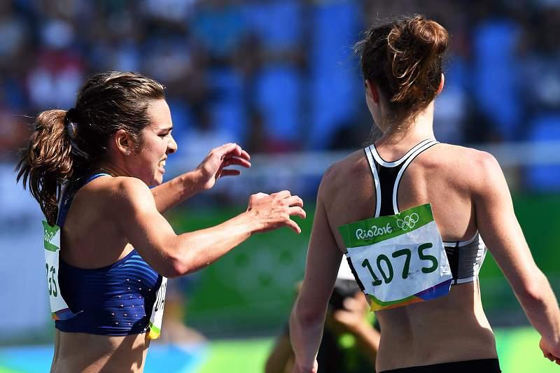 Repescada Abbey D'Agostino falha final dos 5.000 metros
