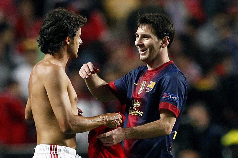 Aimar e Messi
