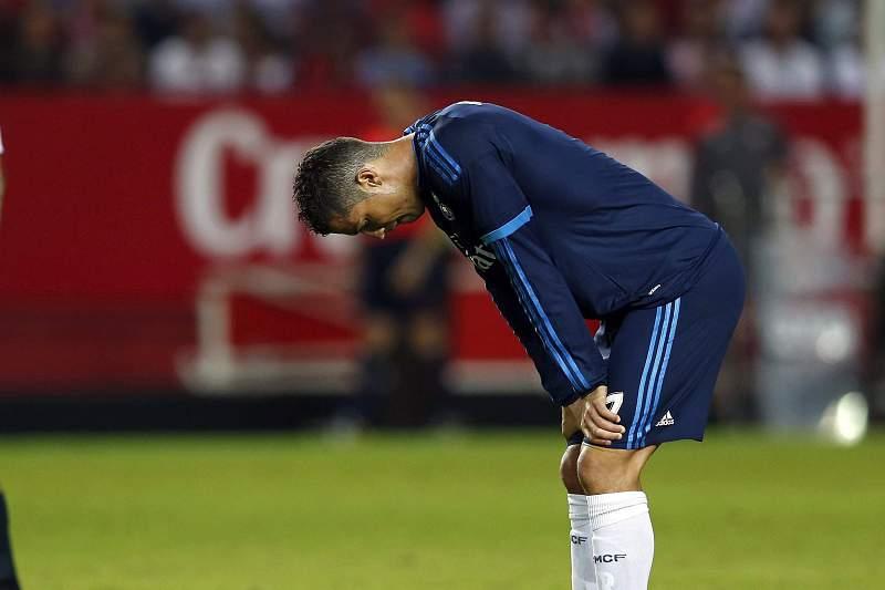 Cristiano Ronaldo desolado