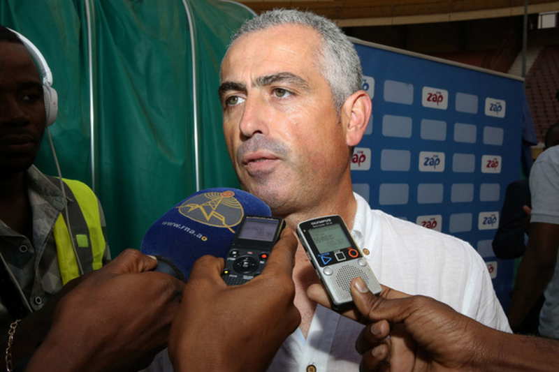 João Paulo Costa, treinador do Recreativo do Libolo