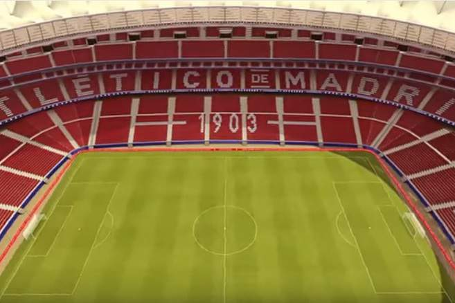 Wanda Metropolitano, novo estádio do Atletico de Madrid