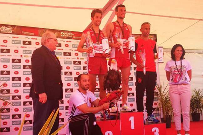 Rui Pinto e Dulce Félix vencem corrida Benfica