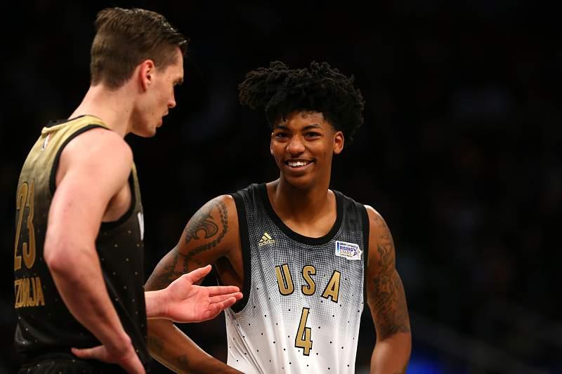 Seleção americana vence seleção mundial no 'Rising Stars Challenge' da NBA