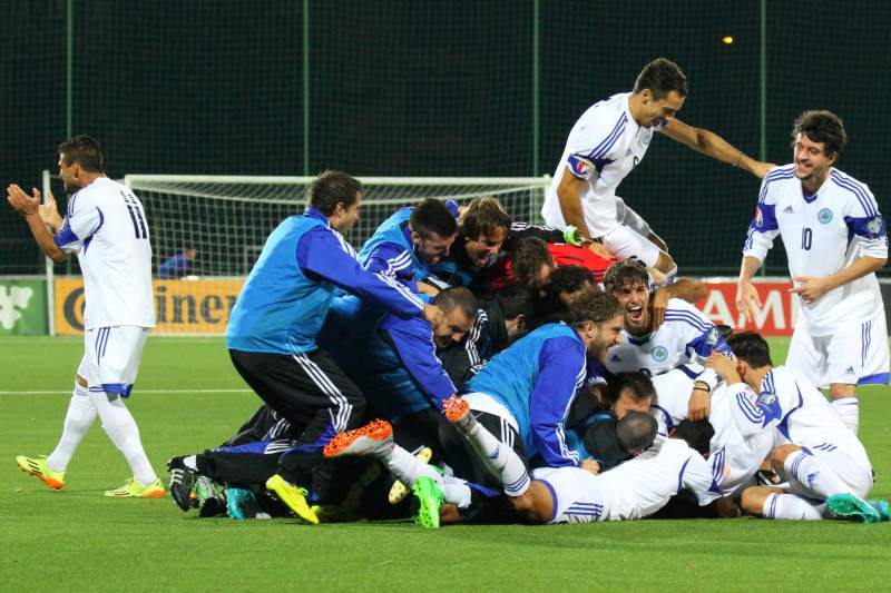 San Marino marca pela primeira vez na qualificação ao Euro2016