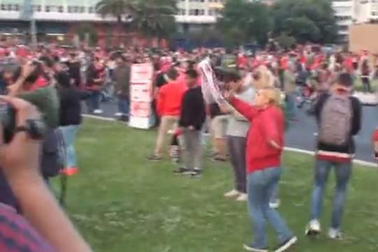 Vídeo: Primeiras imagens da Festa do Benfica no Marquês