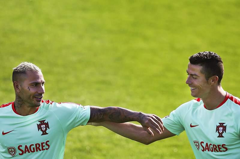 Ricardo Quaresma e Cristiano Ronaldo