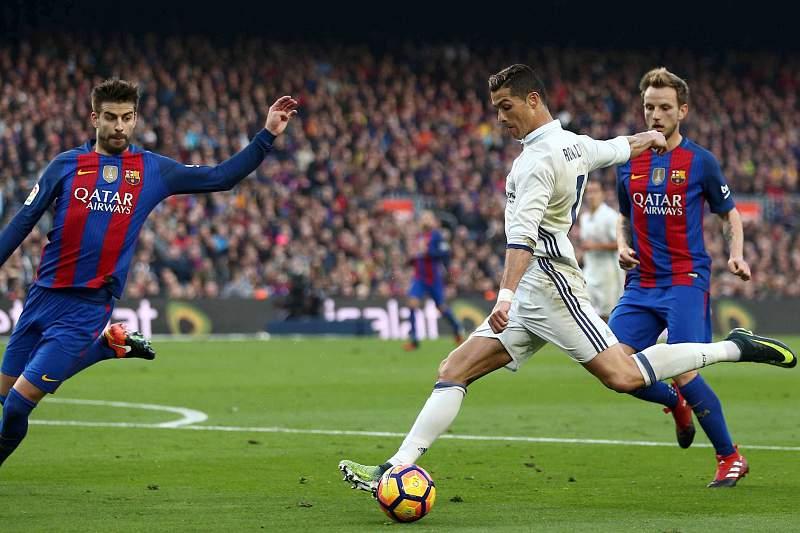 Neymar falha El Classico. CR7 pode sair do Bernabéu com o título no bolso