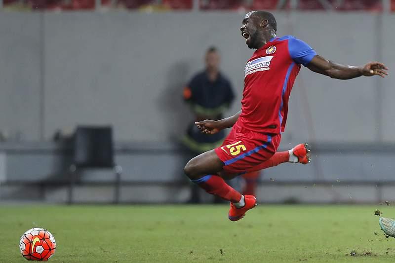 Gregory Tade, jogador do Steaua Bucareste