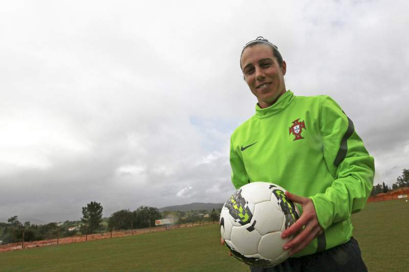 Edite Fernandes, do futebol de rua para os recordes por Portugal