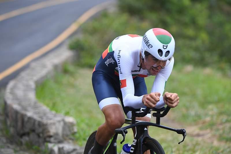 Nélson Oliveira é o melhor português de sempre no 'crono' olímpico