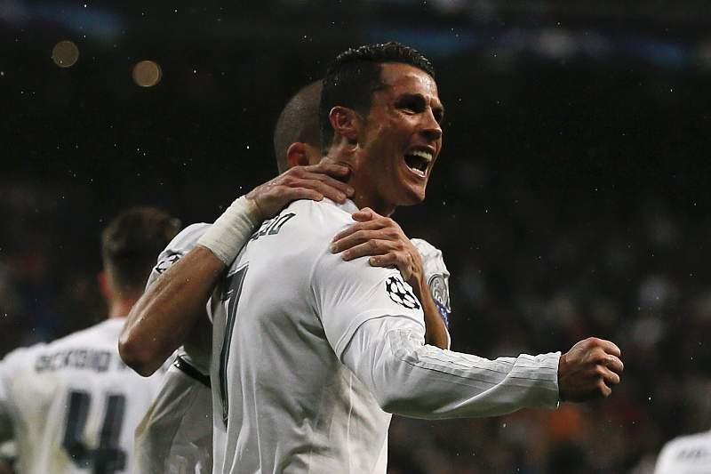 Cristiano Ronaldo com um hat-trick ao Wolfsburgo