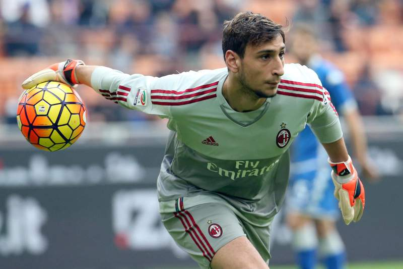 Gianluigi Donnarumma, guarda-redes do AC Milan