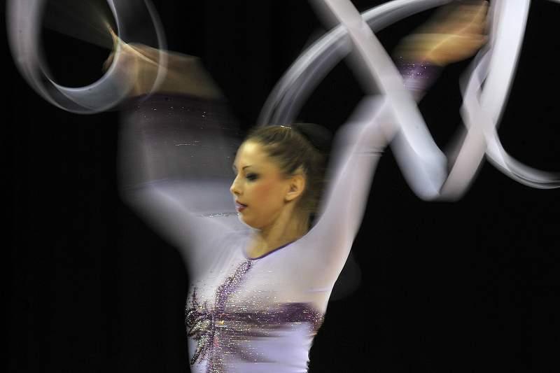Tsvetelina Stoyanova durante os Jogos Olímpicos de Londres