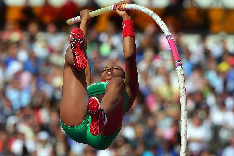 Londres2012: Salto com vara: Maria Eleonor Tavares