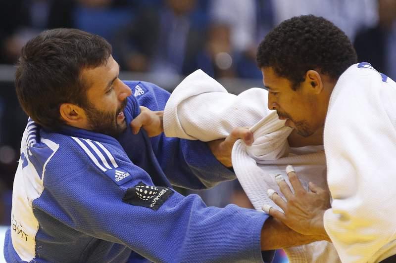 Judocas portugueses eliminados no primeiro dia do `Grand Slam