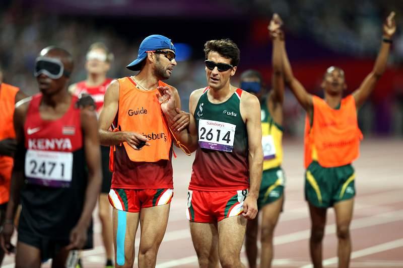 Nuno Alves em ação nos Jogos Paralímpicos de Londres'2012