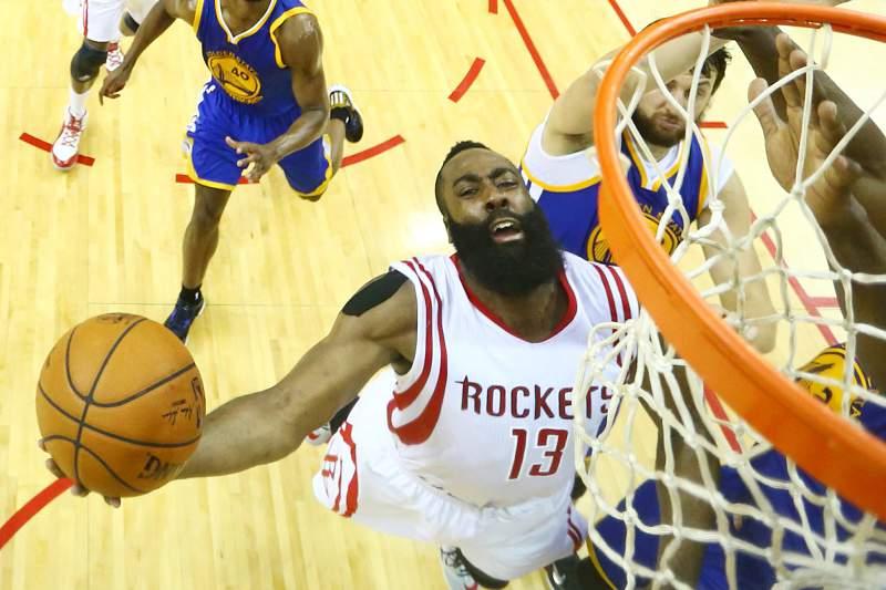 Golden State Warriors at Houston Rockets