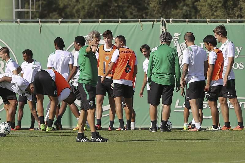 Sporting CP training session in Alcochete
