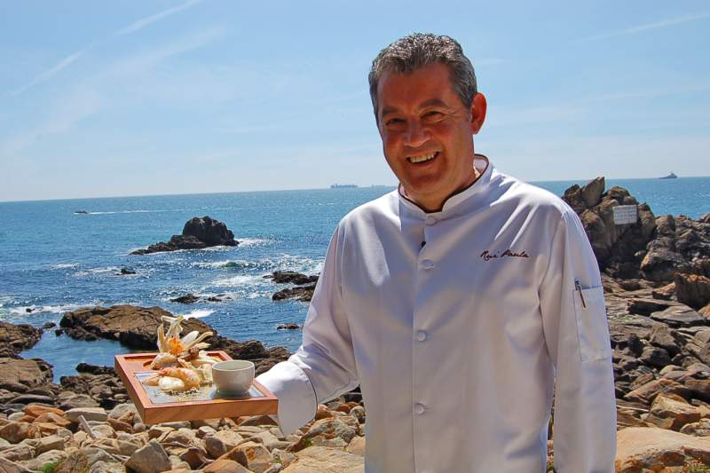 Rui Paula preparou um prato para o Portugal-Islândia