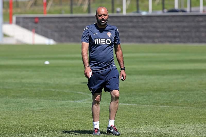 Emílio Peixe, selecionador de sub-19 de Portugal
