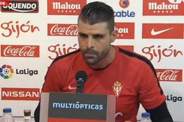 Guardião do Sp. Gijón arrasou jornalista