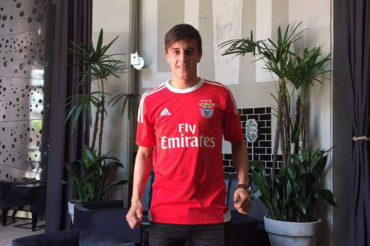 Franco Cervi foi confirmado no Benfica