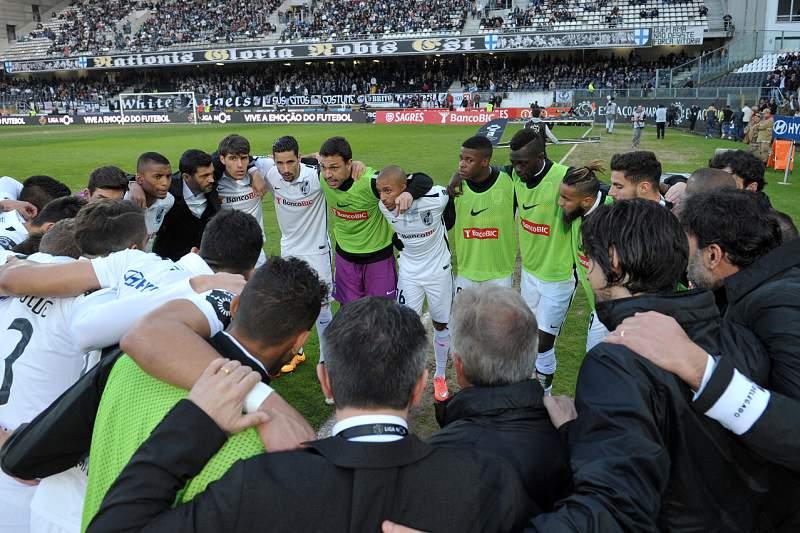 Jogadores do Vitória de Guimarães