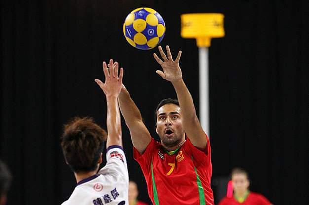 Jogo da seleção portuguesa de Corfebol