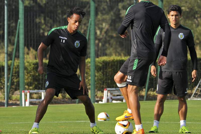 UEFA Europa League Sporting training