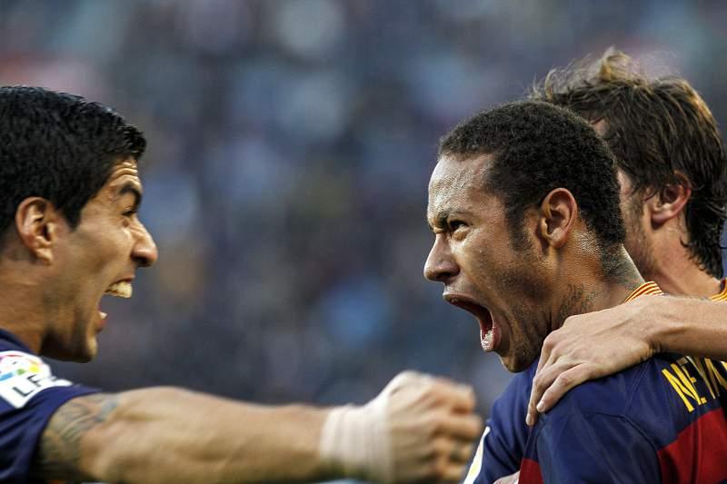 Neymar e Suárez
