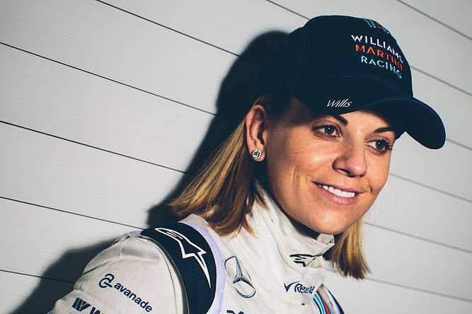 Susie Wolff, piloto de testes da equipa Williams desde 2012