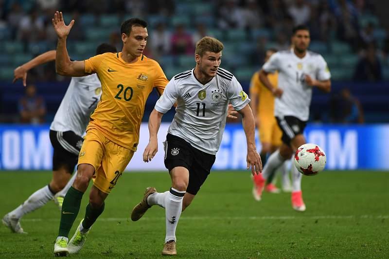 Campeã mundial Alemanha bate Austrália