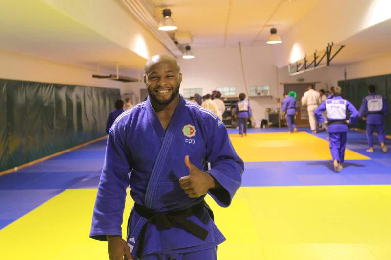 Jorge Fonseca, judoca do Sporting